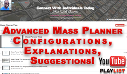 Mass Planner Tips YouTube Playlist